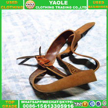 Made in China Belt Used Belt For Women Second Hand Clothes In Bales