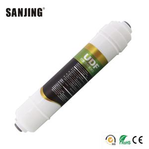 Hot Selling Small T33 UDF Water Filter Cartridge for Drinking Water Purifier