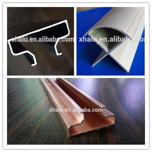 Custom Slotted slatwall t slot aluminium alloy extrusion insert profiles accessories