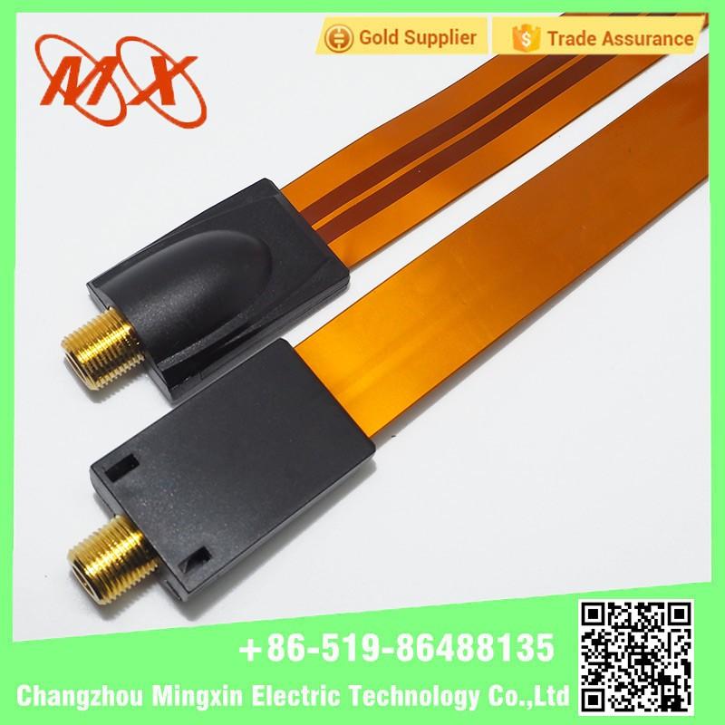 Flat Coaxial Cable Connectors : New design unique flat coaxial cable connector view