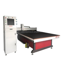 High precision CNC full automatic glass cutting machine with Yasko servo motor