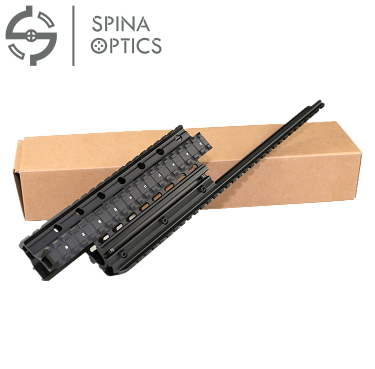 Handguard Quad Rail System Mount fit AK 47 AKS Saiga-12 Quad Rail Systeem/handguard Richtkijker Mount Tactical picatinny rail