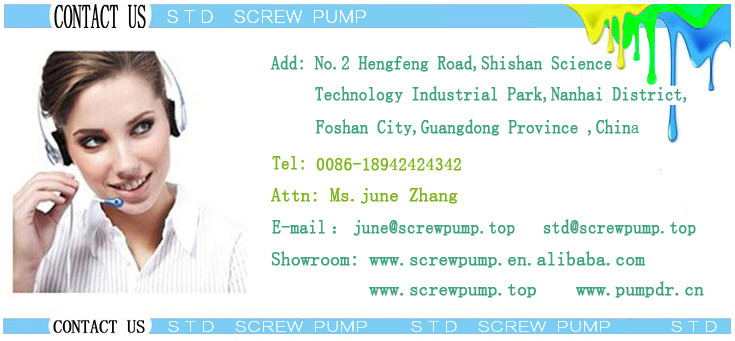 high quality high efficiency barrel pump Pressure plate screw pump