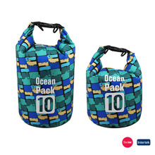 PVC waterproof bag backpack wet dry bag for outdoor sports