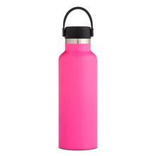 14 Oz 18 Oz, 22 Oz 32 Oz 40 Oz 64 Oz Powder Coating Vacuum Insulated Stainless Steel Botol Air kustom LOGO Laser Etching Terukir