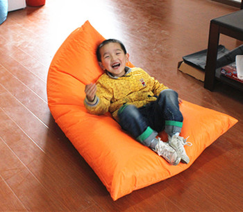 Mini Bean Bag Chairs For Your Kids Room Accessories With Triangle Shape
