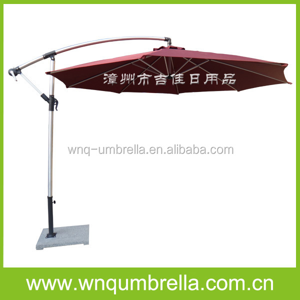 3m Cantilever Waterproof Patio Umbrella