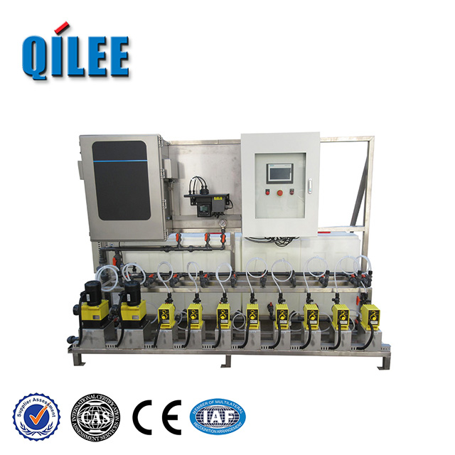 Automatically operate chemical flocculant dosing system in water treatment
