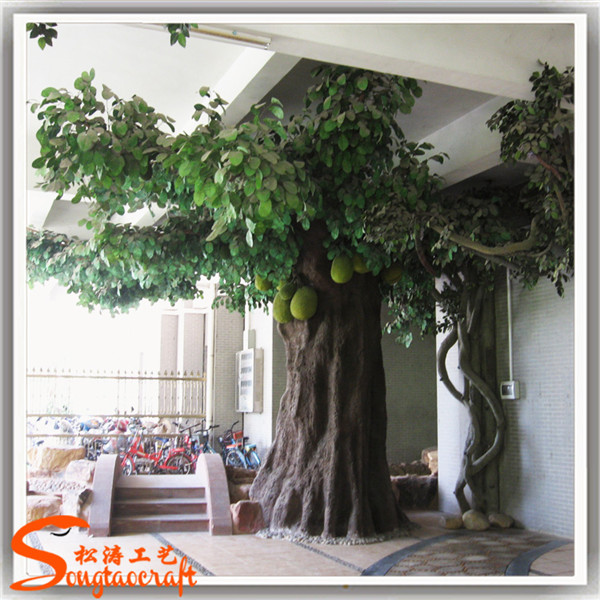 Grande artificial rbol decorativo de interior decoraci n for Arbol artificial decoracion