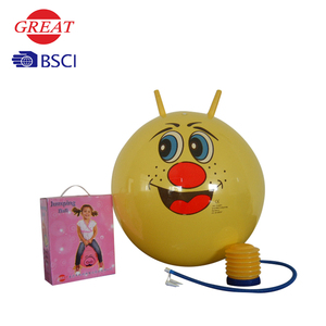 pvc inflatable animal jumping space hoppers