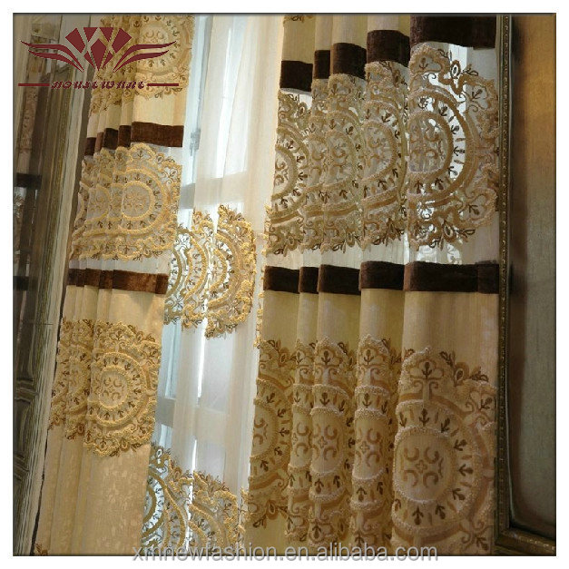Custom Curtains And Drapes,Chinese Style Curtains,Luxury Classic ...