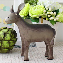 factory custom wholesale decorative donkey figurine
