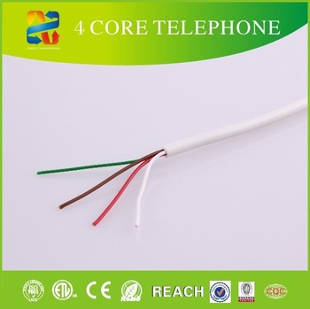 1000ft Round Phone/telephone Line Cable/cord Spool/roll/4 Core/wire ...