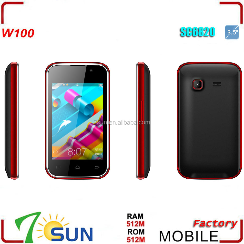 Camera 3.5 Inch Android Phone made in china 3 5inch android 2 smartphone unlocked dual sim ultra slim smart phone