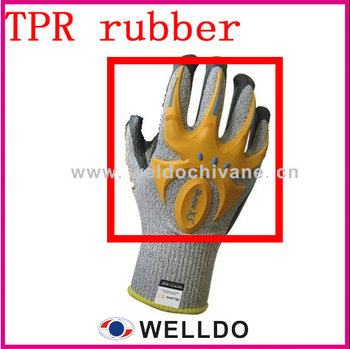 High Impact Resistant Tpr Logo/tpr Rubber Logo For Gloves Knuckle ...
