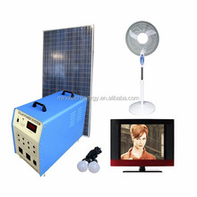 Mini solar energy system 300w load tv ,laptop,fan ...