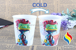 mugbaby Plastic Cup with Lid Cold Heat Insulation Creative Camping Tour Coffee cups