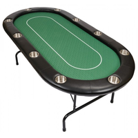 84 inch large casino and folding poker table