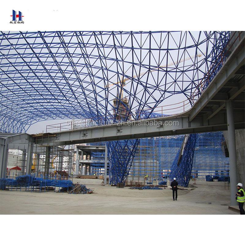 famous steel prefab welding steel structure workshop