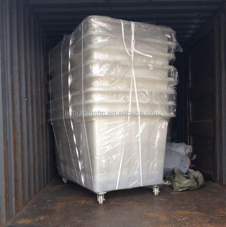 200 litre plastic container LLDPE tank for storage dirty clothes