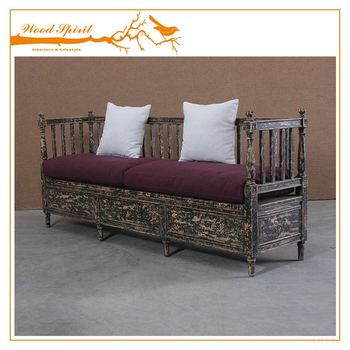 New Design Factory Price Single Wooden L Shaped Sofa Bed With Storage