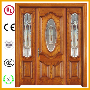 bc0f65fff89 Modern home interior french decoration door frosted oval glass door inserts