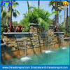 3D Outside Fountain Cladding Rusty Culture Slate Tile