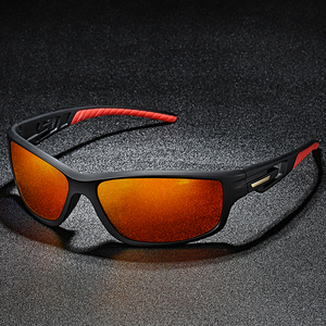 New Night Vision Polarized Sunglasses Outdoor Riding Glasses Second Injection Moulded TR90 Sports Driving Sun glasses