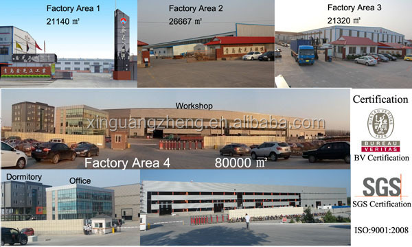 China low cost steel prefab warehouse for sale