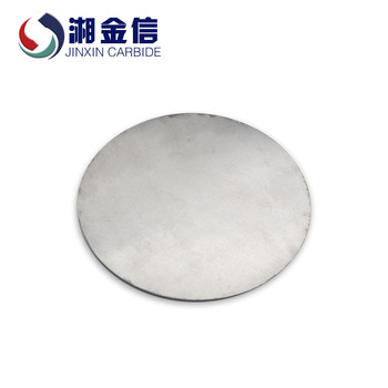 wholesale factory carbide Customized Round Plate bulletproof plates High impact resistance thick granular plate