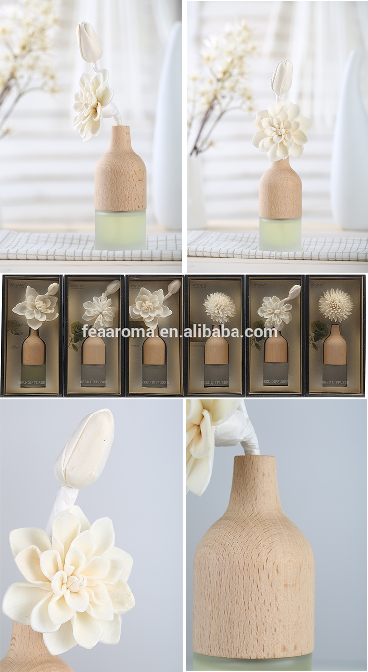 Home Use Best Price OAXIZ-08 Eight Kinds Scents Reed Diffuser Stick Gift Set