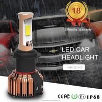 2016 new products high power led headlight bulb h7 with 35w 6000k 5000 lumen led head lamp bulb