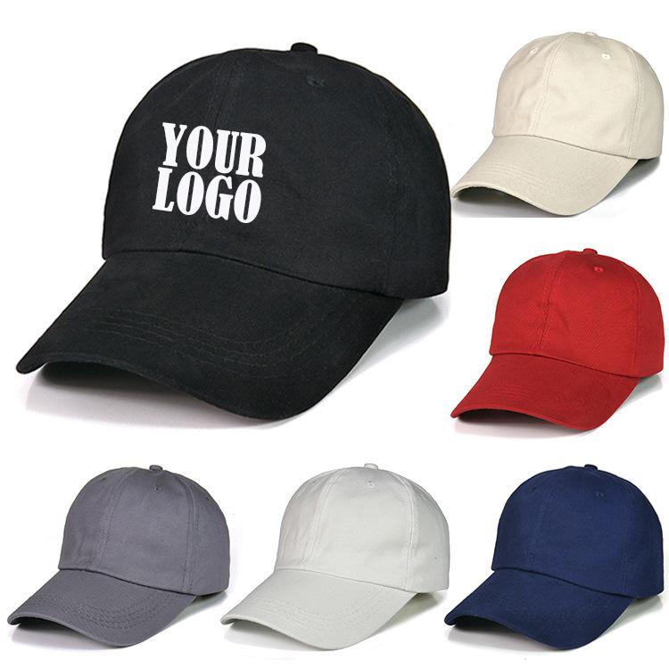Livraison gratuite 20 pièces Minimum boucle en métal personnalisé votre logo broderie casquette de baseball promotionnelle