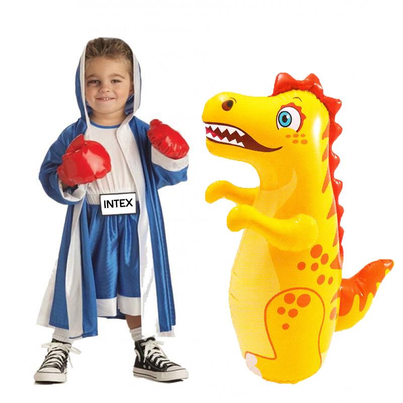 """3-D ANIMAL FUN BOP BAGS 36/"""" Walrus Giraffe Elephant Punch Bag BOUNCE BACK 52152"""