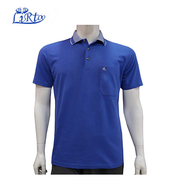 Mannen Korte Mouw Polo Shirts, Casual Fit Basic Zomer Knop Top Fashion Pocket T-Shirts