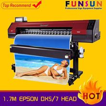 Funsunjet FS-1700M 1.7m dx5 head 1440dpi dx5 head digital paper roll printing machine