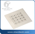 IP68 waterproof 4*4 metallic matrix keypad
