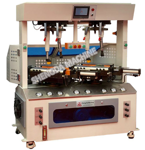 Gantry type hydraulic sole pressing attaching machine price shoe factory equipment