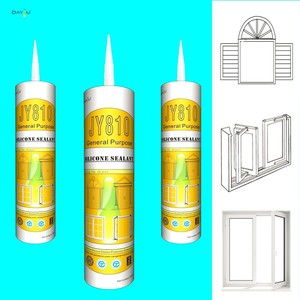 Factory direct supply JY810 bonding fixing ceramic marble silicone sealant glue
