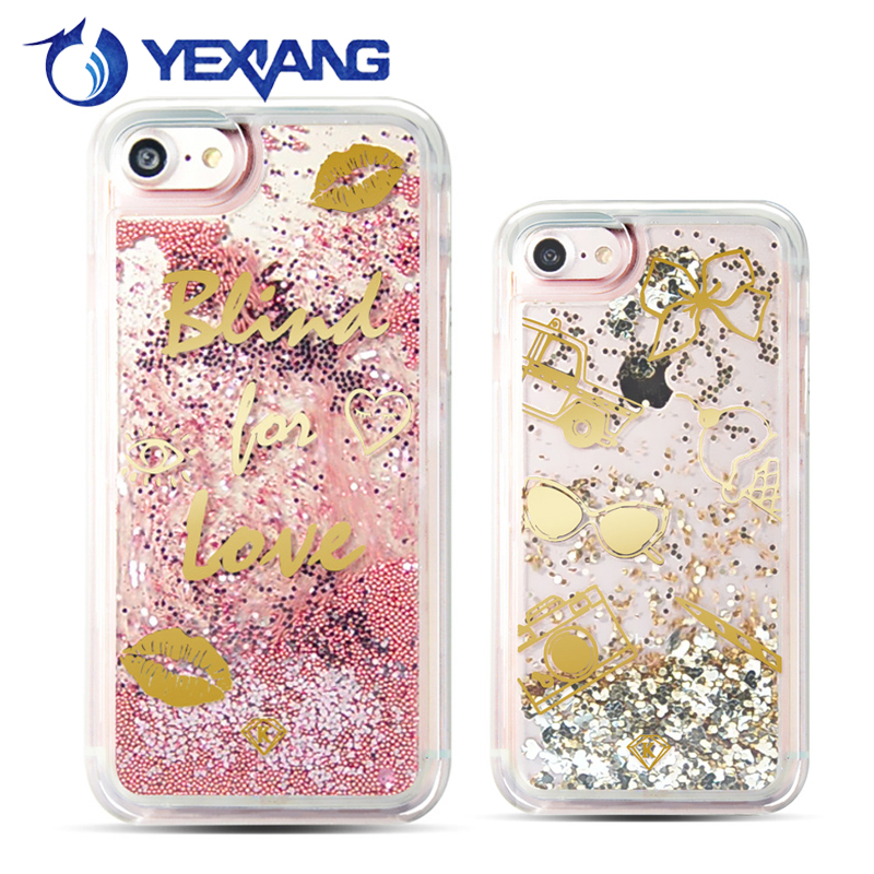 Small Steel Ball Customized Skin Glitter TPU Phone Back Cover XA1For Sony Xperia Liquid Case