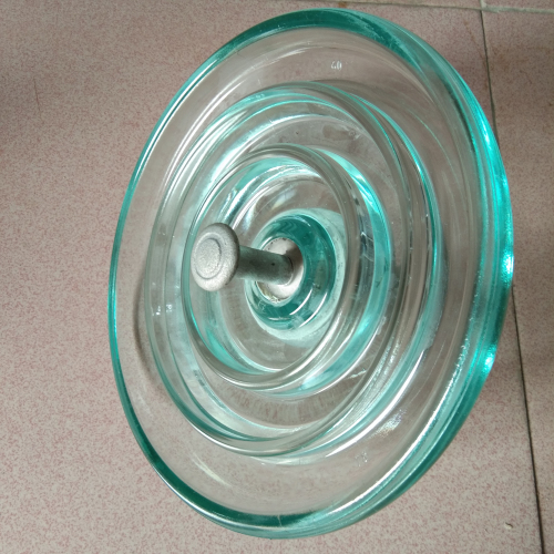 11KV disc suspension glass insulator