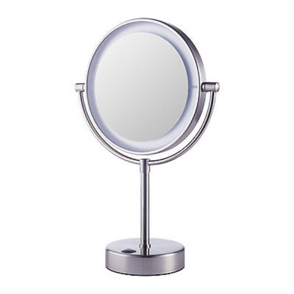 Get Quotations Ikea Kaitum Mirror With Integrated Lighting Battery Operated Led