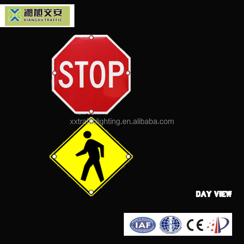 Road Safety Cheap Traffic Pedestrian Sign