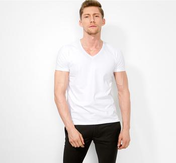 360e42fc41a Cheap White T shirts In Bulk Plain V neck Blank Online Shopping India T  shirt