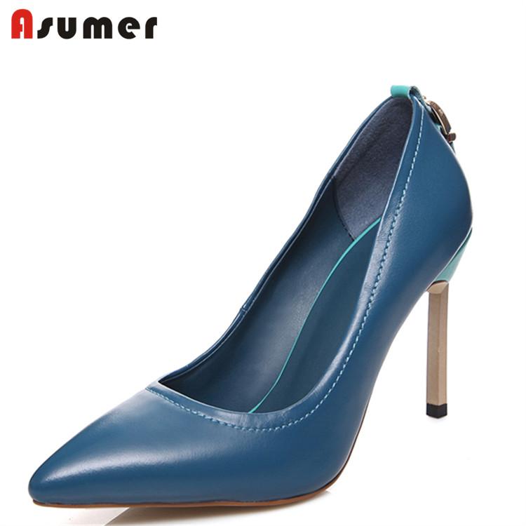 woman toe pointed heels shoes popular Asumer high sexy RUa6Sxq