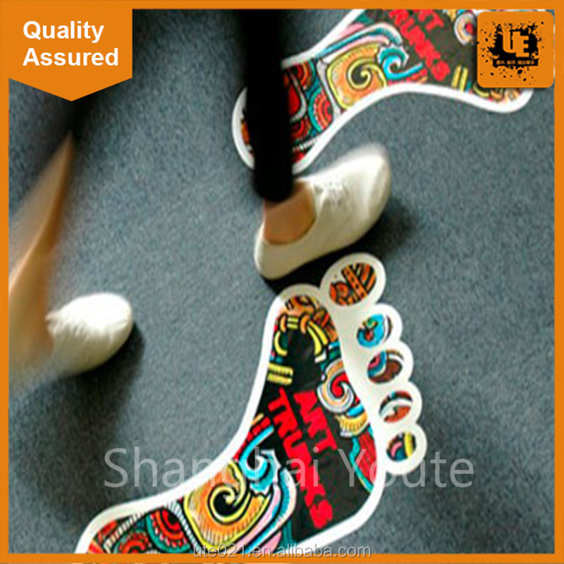 Eyemove customized removable wood floor sticker / decal /graphic