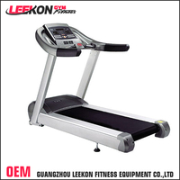 commercial cardio exercise 3.5HP motor 150kg horizon speed fit treadmill fitness equipment with led display
