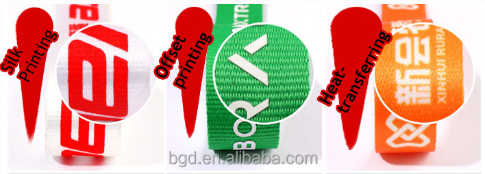Wholesale VOGRACE cheap customized logo printed lanyard printing polyester heat-transferring neck lanyards no MOQ for sale