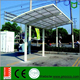 DIY Design PNOC Supply Powder Coated Aluminum Double Solar Car Carport Garage Canopy
