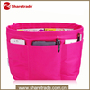 Portable cosmetic organizer ladies makeup bag professional with compartment